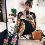 осуждение и одобрение женской тату 22.11.2019 №023 -female tattoo- tatufoto.com