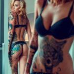 осуждение и одобрение женской тату 22.11.2019 №027 -female tattoo- tatufoto.com