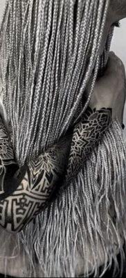 тату рукав женский 18.11.2019 №021 -tattoo sleeve women- tatufoto.com