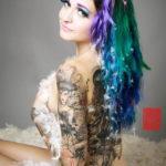 тату рукав женский 18.11.2019 №045 -tattoo sleeve women- tatufoto.com