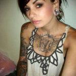 фото красивые люди с тату 24.11.2019 №037 -beautiful people with a tattoo- tatufoto.com