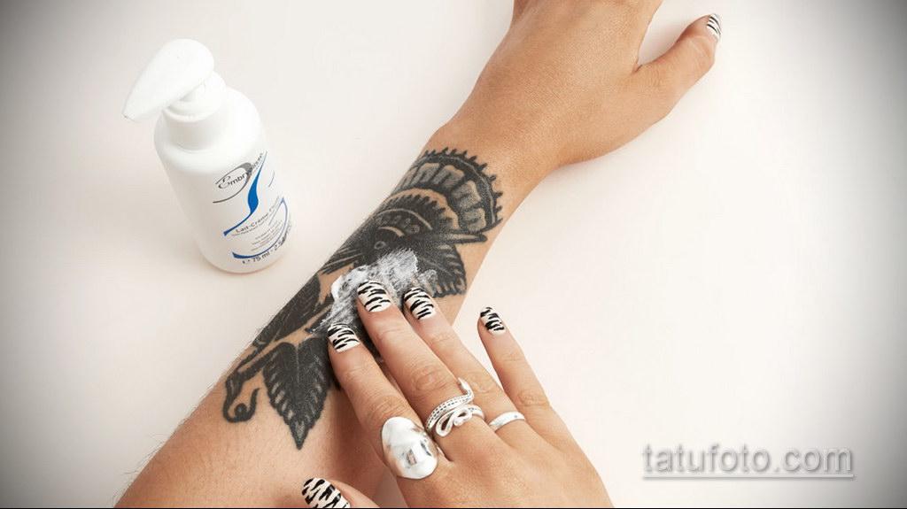 Последующий уход за татуировкой - фото 1
