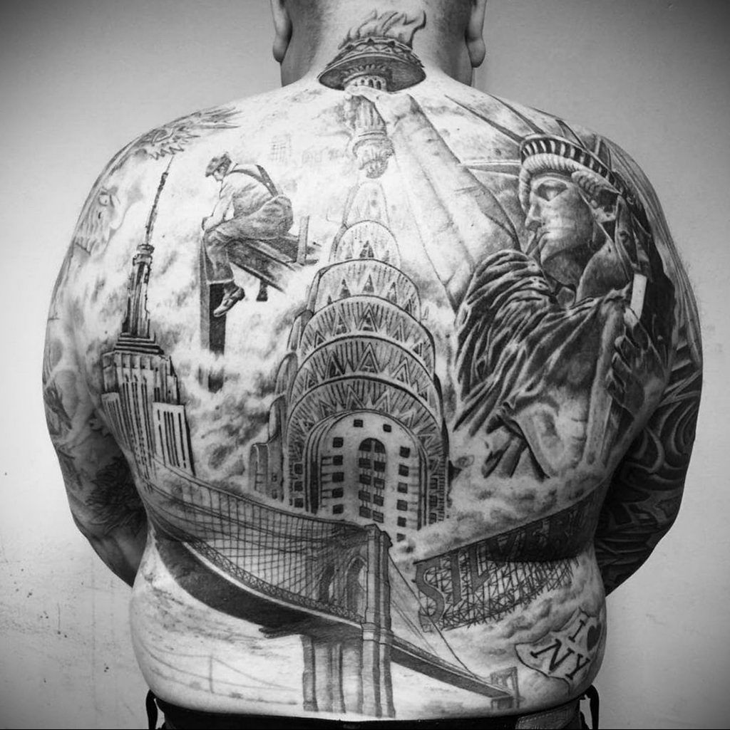 практически у каждого третьего жителя Нью-Йорка есть одна или больше татуировок - фото 1