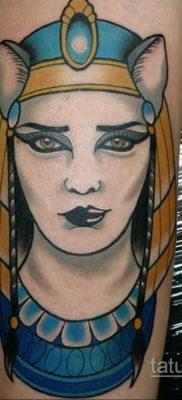 пример рисунка для тату богиня Бастет 02.12.2019 №325 -Bastet tattoo- tatufoto.com