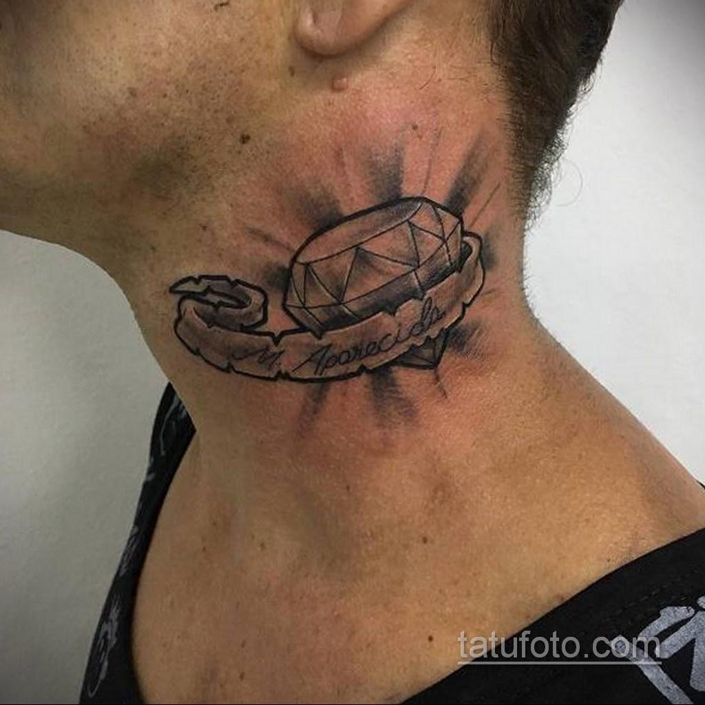 тату диамант для мужчин 02.12.2019 №018 -diamond tattoo for men- tatufoto.com