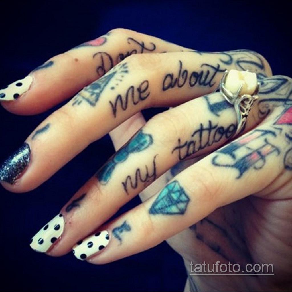 тату диамант на пальце 02.12.2019 №051 -diamond finger tattoo- tatufoto.com