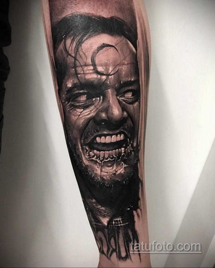 тату хоррор реализм 12.12.2019 №021 -horror tattoo realism- tatufoto.com