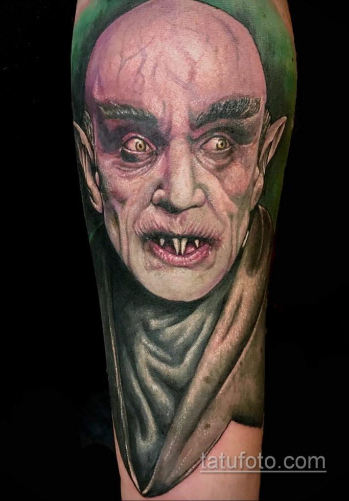 тату хоррор реализм 12.12.2019 №034 -horror tattoo realism- tatufoto.com