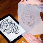 трансферная бумага для татуировки - фото 1