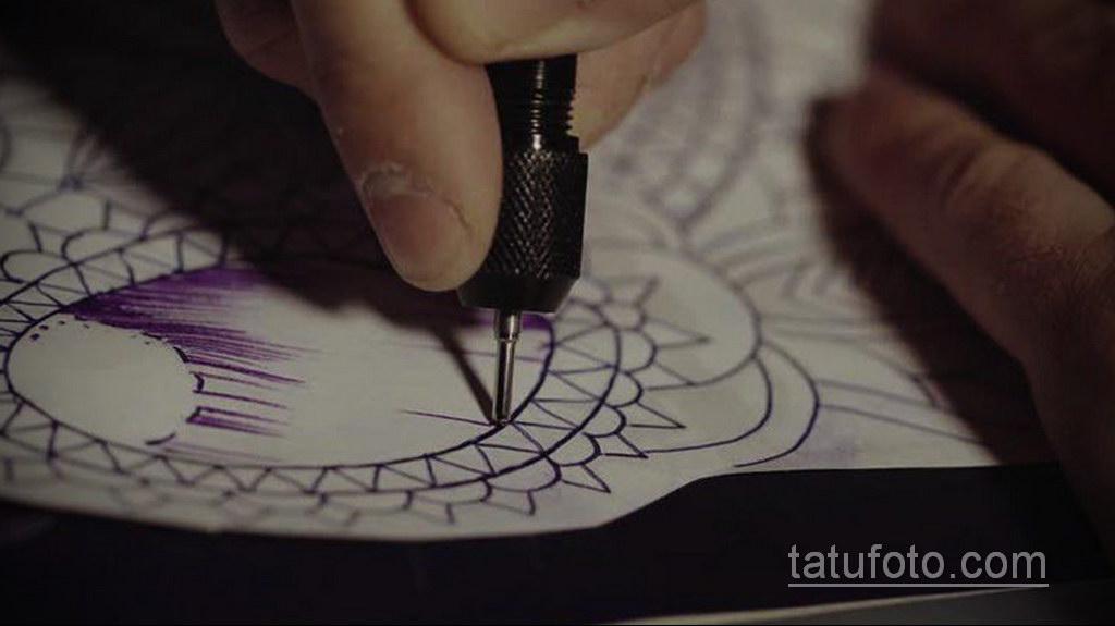 трансферная бумага для татуировки - фото 2