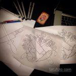 трансферная бумага для татуировки - фото 5