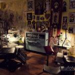 фото интерьера помещения тату салона 15.12.2019 №011 -tattoo parlor- tatufoto.com