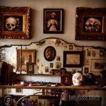 фото интерьера помещения тату салона 15.12.2019 №037 -tattoo parlor- tatufoto.com