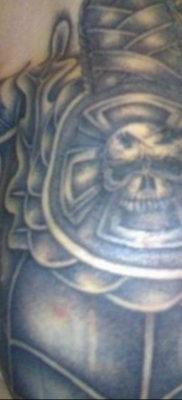 фото тату эполет на плече (погон) 10.12.2019 №080 -tattoo epaulettes- tatufoto.com
