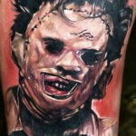 хоррор тату на руке 12.12.2019 №026 -horror tattoo on the arm- tatufoto.com