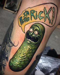 dbkaye и рисунок татуировки 1