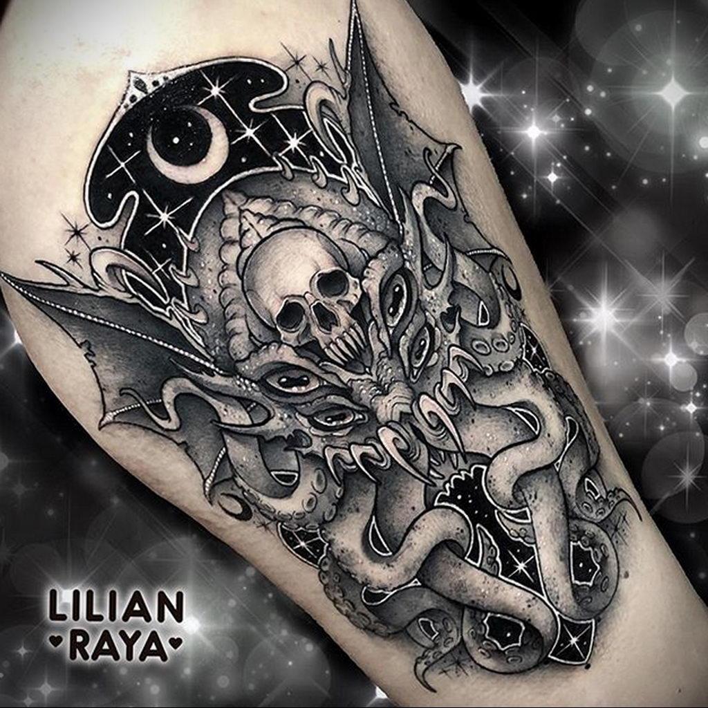 lilianraya и рисунок татуировки 1