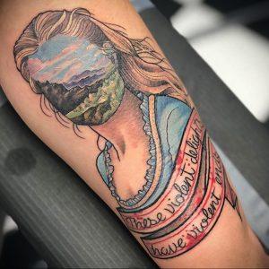 mizmeltattoos и рисунок татуировки 2