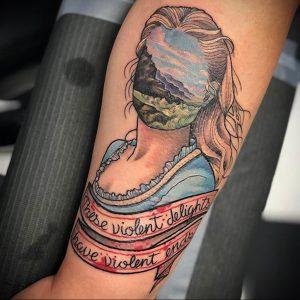 mizmeltattoos и рисунок татуировки 3