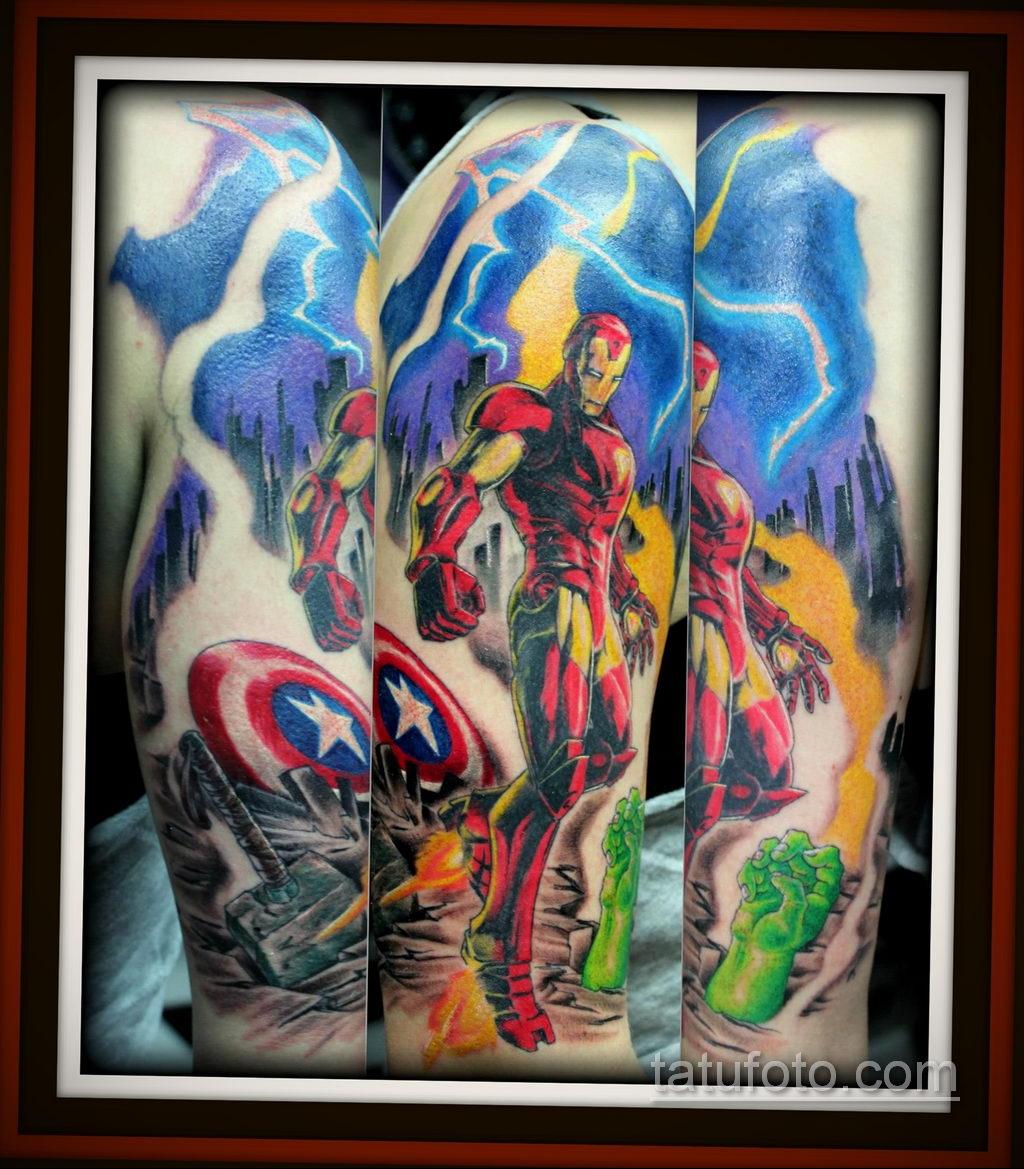 Тату из комиксов марвел 15.01.2020 №004 -Marvel Comic Tattoo- tatufoto.com