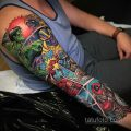 Тату марвел 15.01.2020 №017 -Marvel Tattoo- tatufoto.com