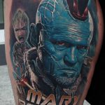Тату марвел 15.01.2020 №118 -Marvel Tattoo- tatufoto.com