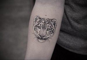 Фото тату Гепард 12.01.2020 №010 -cheetah tattoo- tatufoto.com