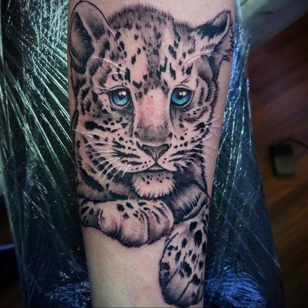 Фото тату Гепард 12.01.2020 №049 -cheetah tattoo- tatufoto.com