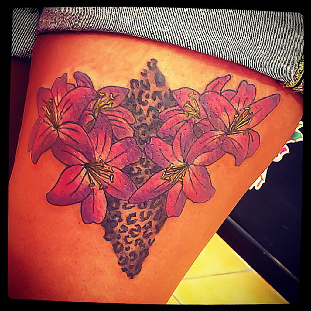 Фото тату Гепард 12.01.2020 №115 -cheetah tattoo- tatufoto.com