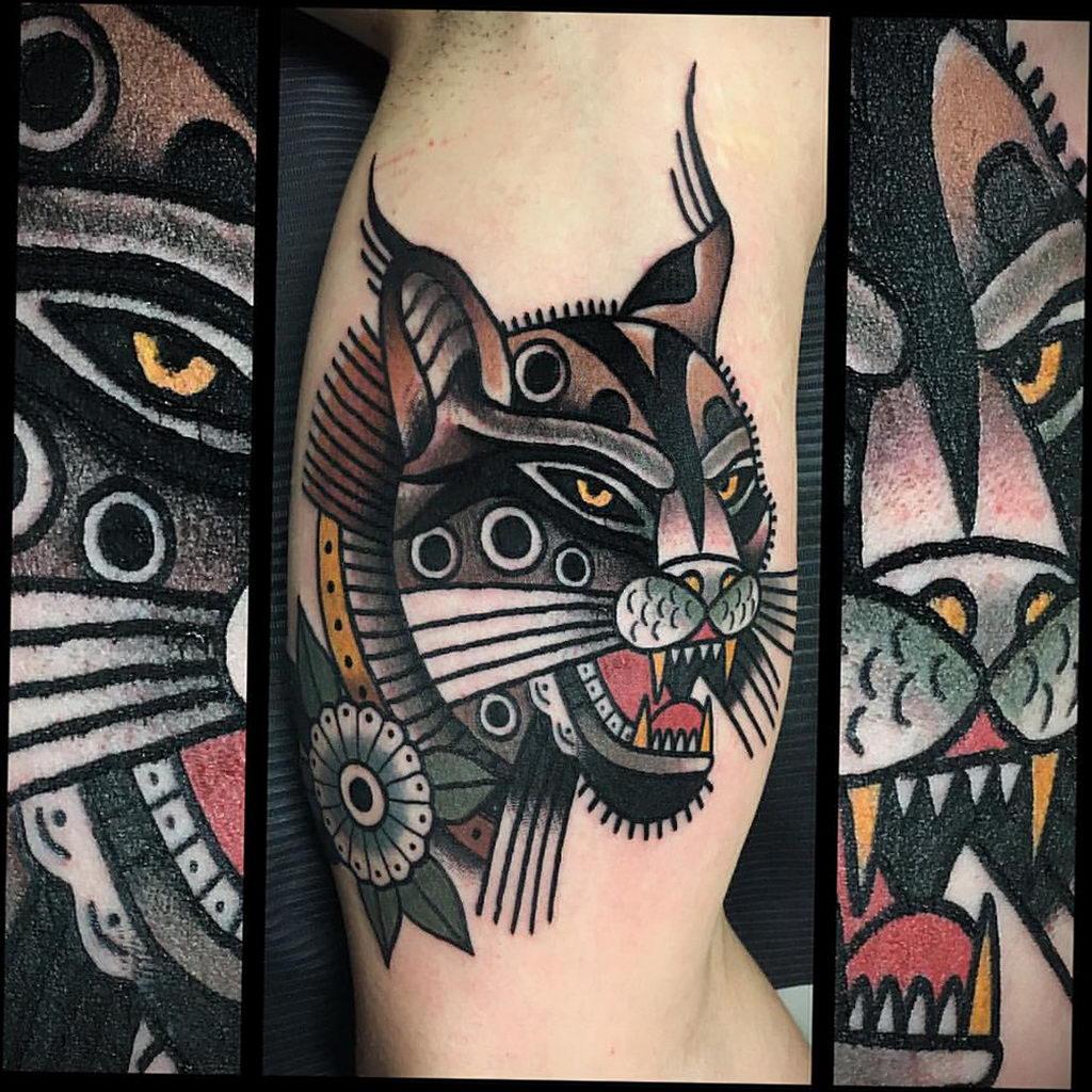Фото тату Гепард 12.01.2020 №151 -cheetah tattoo- tatufoto.com