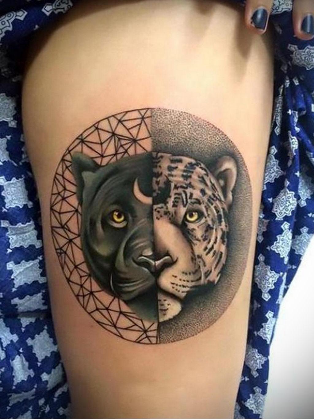 Фото тату Гепард 12.01.2020 №165 -cheetah tattoo- tatufoto.com