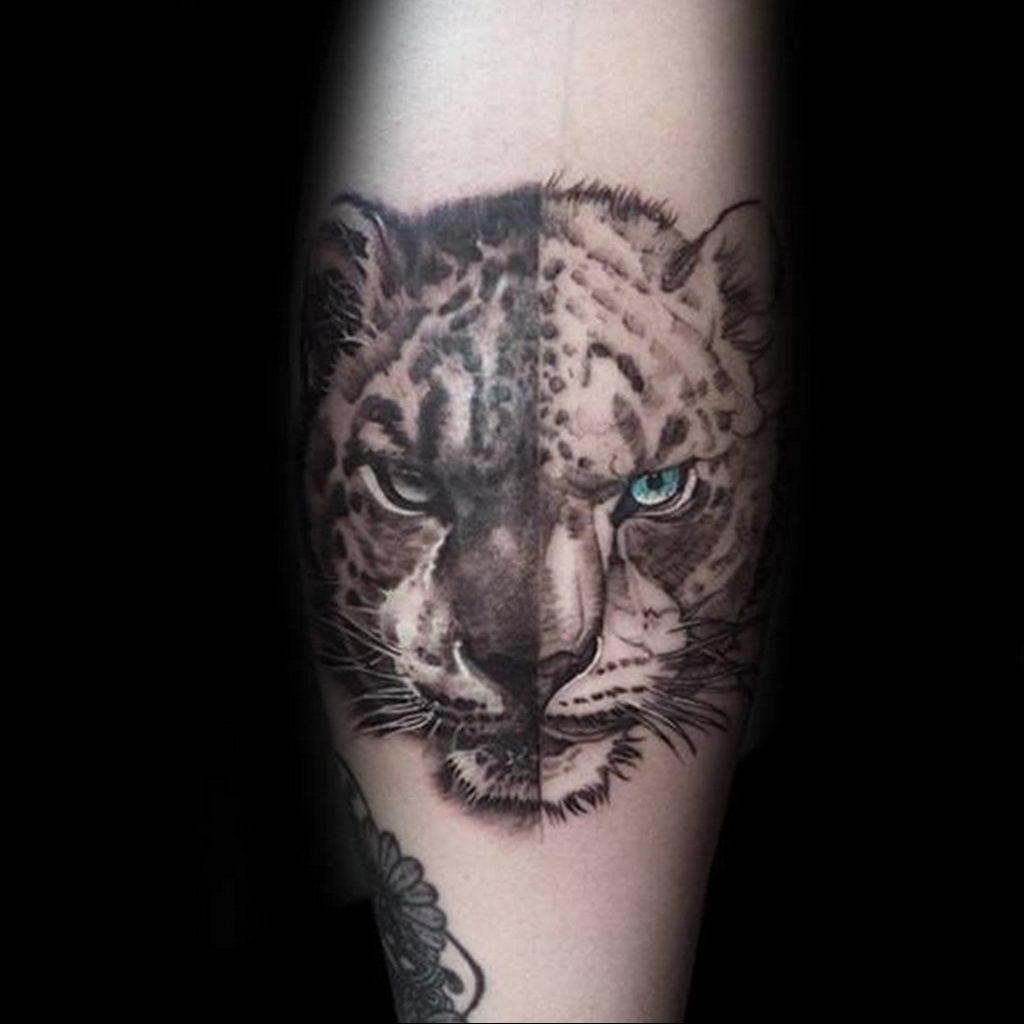 Фото тату Гепард 12.01.2020 №216 -cheetah tattoo- tatufoto.com