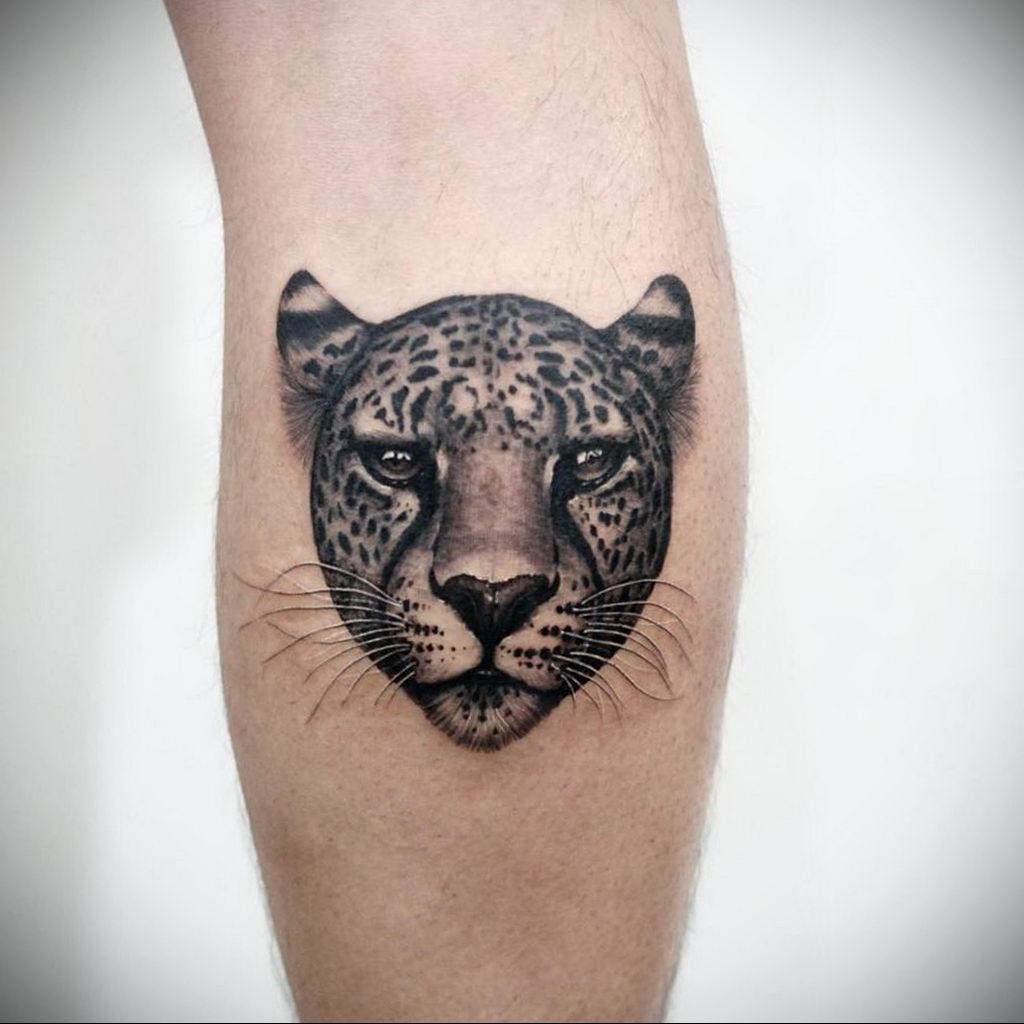 Фото тату Гепард 12.01.2020 №227 -cheetah tattoo- tatufoto.com
