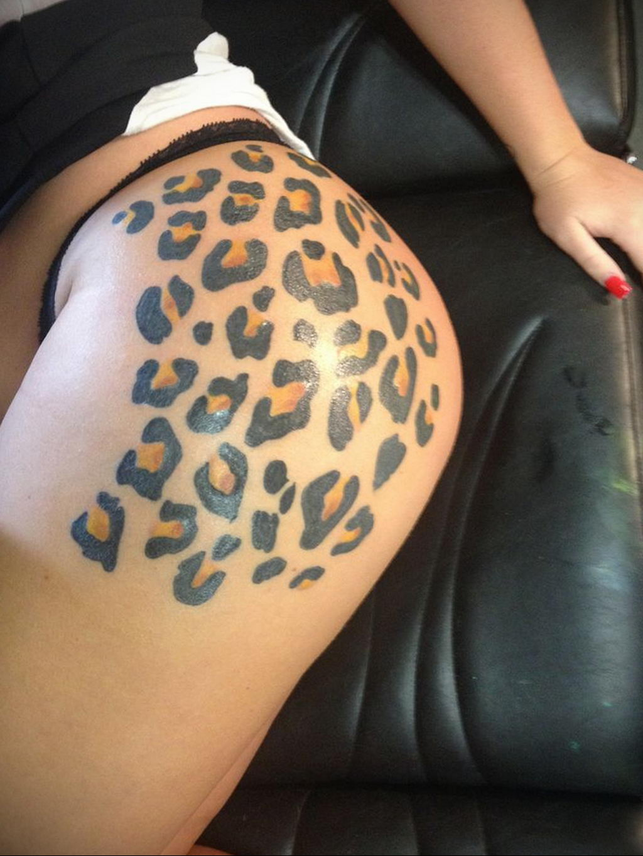 Фото тату Гепард 12.01.2020 №246 -cheetah tattoo- tatufoto.com