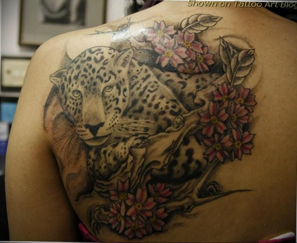 Фото тату Гепард 12.01.2020 №275 -cheetah tattoo- tatufoto.com