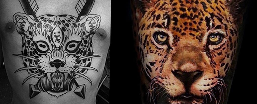Фото тату Гепард 12.01.2020 №279 -cheetah tattoo- tatufoto.com
