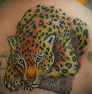 Фото тату Гепард 12.01.2020 №283 -cheetah tattoo- tatufoto.com