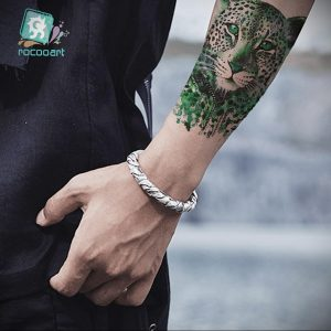 Фото тату Гепард 12.01.2020 №308 -cheetah tattoo- tatufoto.com