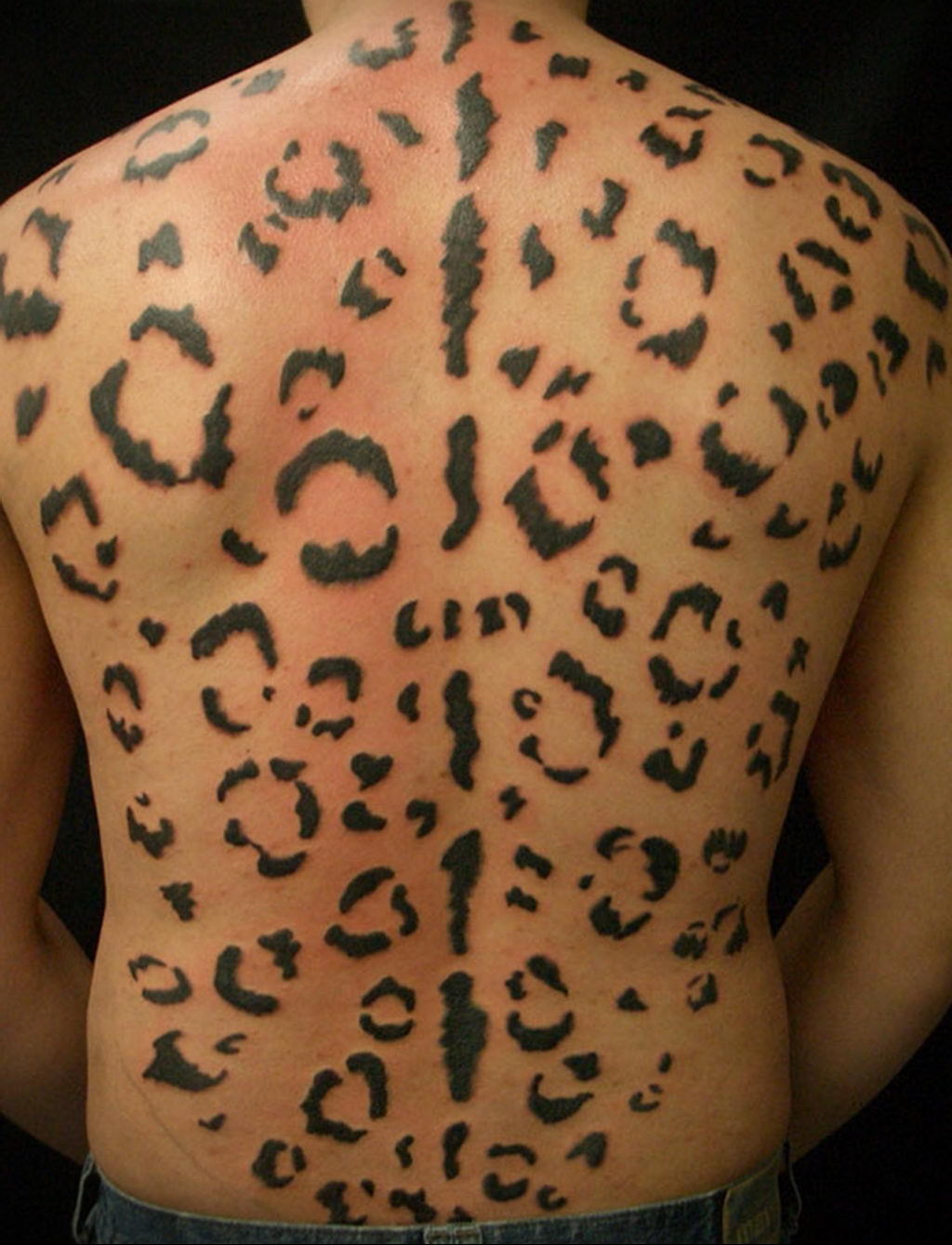 Фото тату Гепард 12.01.2020 №311 -cheetah tattoo- tatufoto.com