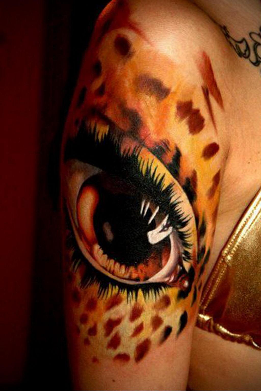 Фото тату Гепард 12.01.2020 №321 -cheetah tattoo- tatufoto.com