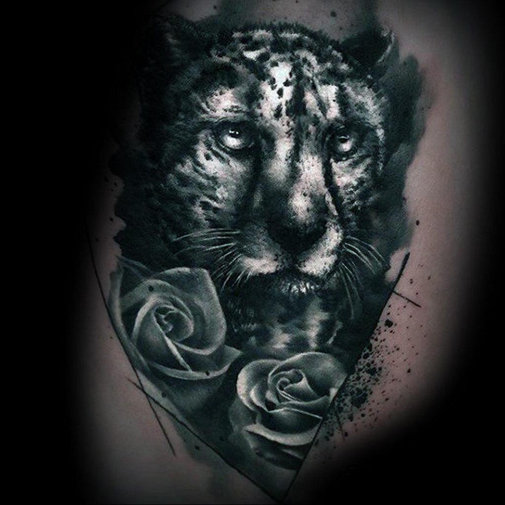 Фото тату Гепард 12.01.2020 №328 -cheetah tattoo- tatufoto.com