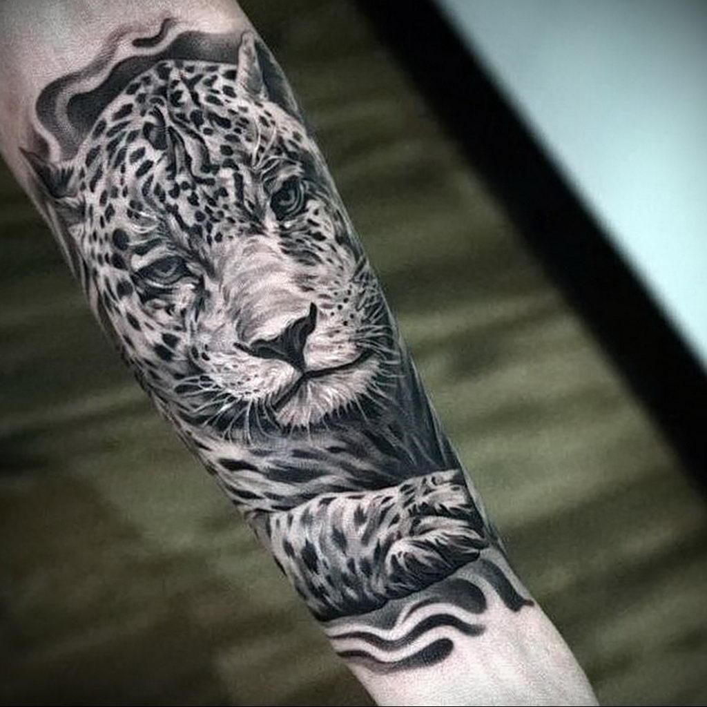 Фото тату Гепард 12.01.2020 №343 -cheetah tattoo- tatufoto.com