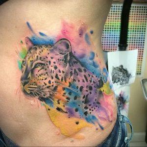 Фото тату Гепард 12.01.2020 №346 -cheetah tattoo- tatufoto.com