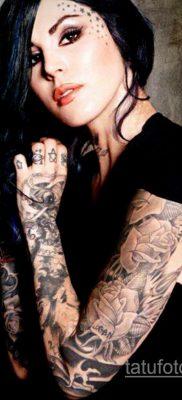 крутая женская татуировки 21.01.2020 №363 -cool female tattoos- tatufoto.com