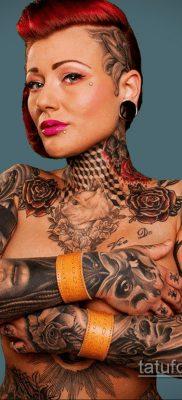 крутая женская татуировки 21.01.2020 №385 -cool female tattoos- tatufoto.com