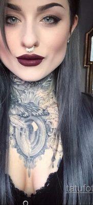 крутая женская татуировки 21.01.2020 №401 -cool female tattoos- tatufoto.com