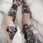 крутая женская татуировки 21.01.2020 №448 -cool female tattoos- tatufoto.com