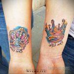 фото тату корона на запястье для мужчин 02.01.2020 №1013 -crown tattoo- tatufoto.com