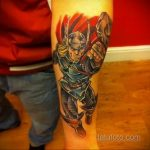 Tattoo Superhero Thor 15.01.2020 №005 -Marvel Tattoo- tatufoto.com
