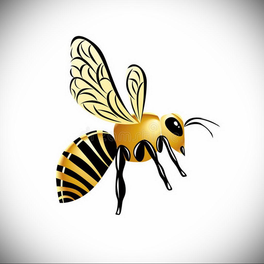 wasp tattoo sketch 07.01.2020 №3021 -wasp tattoo sketch- tatufoto.com